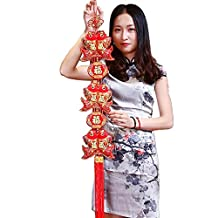 2018 Lunar Spring Traditional Fish Ornaments Hanging Decorations for Chinese New Year