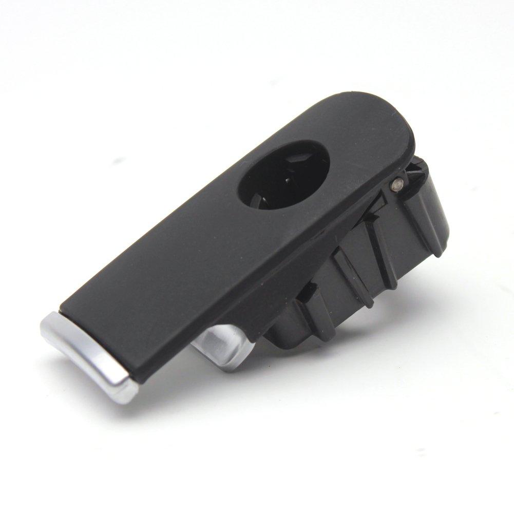 LOOYUAN Black Glove Box Lock Lid Handle Plastic Chrome For Audi A4 8E B6 B7 Kinglooyuan 8E1857131
