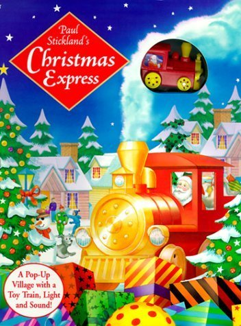 Christmas Playset: With Wind-Up Train, Pop-Up Scene, Sound Ship, Light, Punch-Out Character and Track with Book and Other by Paul Stickland (1999-09-01) - Exclusive Playset Light