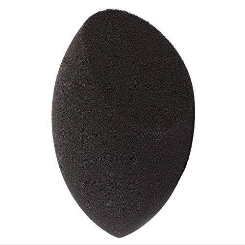 Makeup Beauty Contour Sponge Blender - 1 pc Black Face Complexion Make Up Sponges for Concealer, Blending, Stippling, Highlight and Contouring! Latex Free Cosmetic Applicator Esponjas Para Maquillaje
