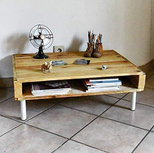 Table Basse Ou Meuble Tv En Bois De Palette Amazon Fr