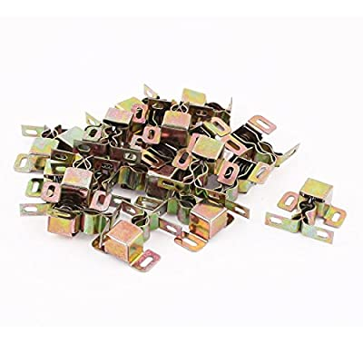1.3-inch Length Cabinet Cupboard Door Latch Catch Bronze Tone 20pcs