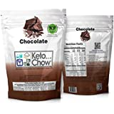 Keto Chow Ultra Low Carb Meal Replacement Shake, complete nutrition for Ketogenic Diet (Chocolate 2.1, 21 Meals)