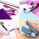 Diaper Mini Hand-held Sewing Machine Portable Travel Household Clothes Fabric Electric Quick Stitch Tool Sewing Machine (3 Sizes)