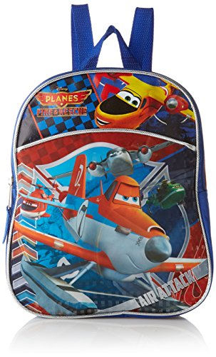 Disney Boys' Planes Mini Backpack, Orange/Blue