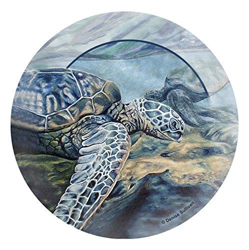 Thirstystone Stoneware Coaster Set, Kona Sea Turtles