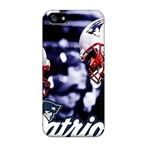 L.M.CASE Perfect Tpu Case For Iphone 5/5s/ Anti-scratch Protector Case (new England Patriots)