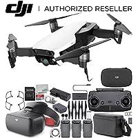 DJI Mavic Air Drone Quadcopter FLY MORE COMBO (Arctic White) + DJI Goggles FPV Headset (Racing Edition) VR FPV POV Experience Bundle