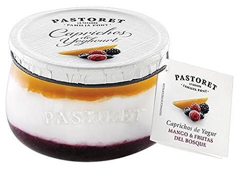 Pastoret - Caprichos de Yogur Mango y Frutas Del Bosque, 1 Unidad x 150 g: Amazon.es: Alimentación y bebidas