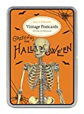 Cavallini Papers & Co. Halloween 2 Glitter Vintage Postcards