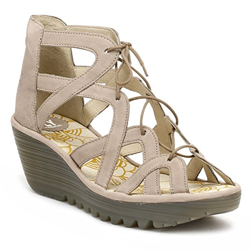 Concrete Sandals Women's Yeli719fly Heels Fly London qFwSZS