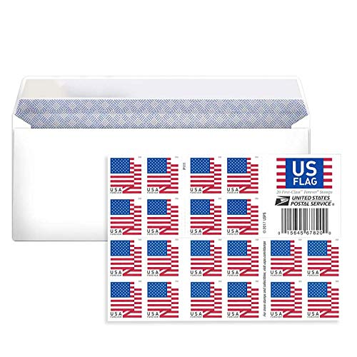 🥇 Business Envelope Come with 2018 Forever Postage Stamps