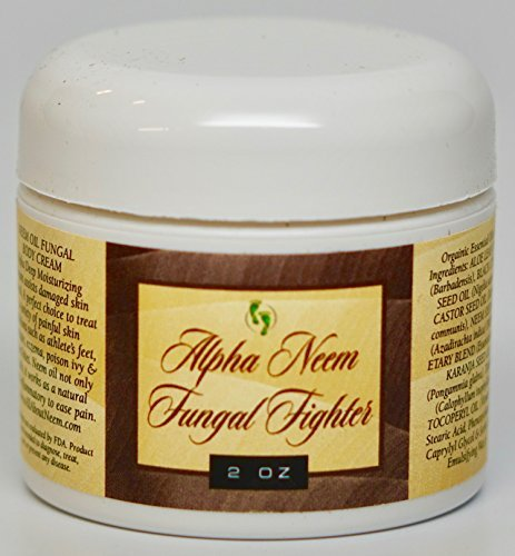 "Neem Oil""Alpha"" Anti-Fungal Cream for Healthy Skin! 2.0 Oz Travel Size"