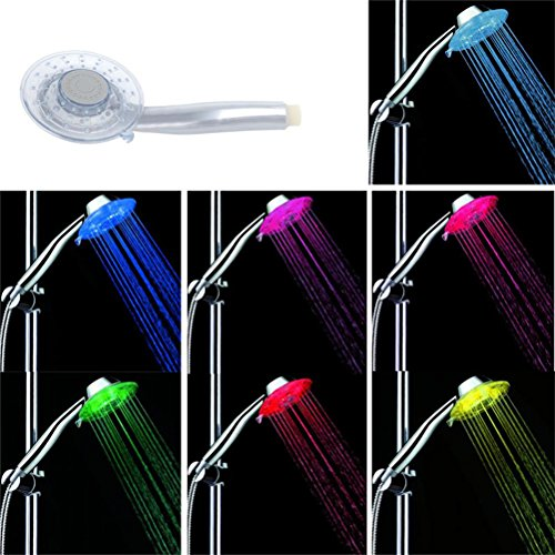 7 color led shower head - 5