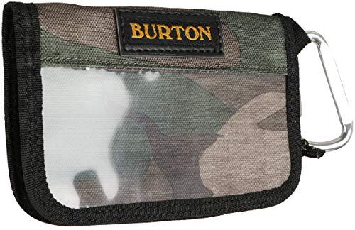 (Burton Zip Pass (Japan) Wallet Bkamo Print Womens )