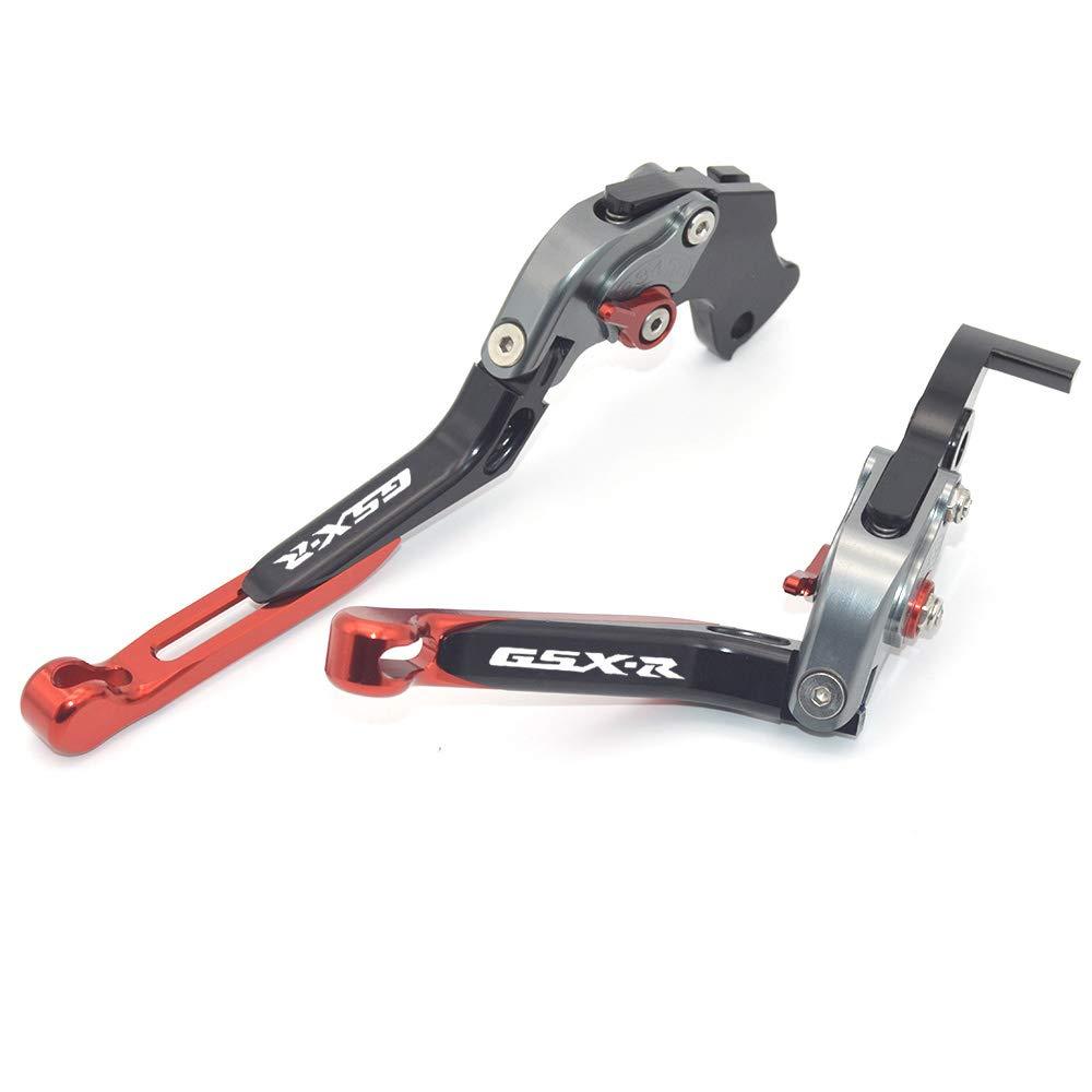 GSX-R 750/2006/ Motocicleta Accesorios CNC plegable extensible de freno Palancas de embrague para SUZUKI GSX-R 600/2006/ GSX-R 1000/2005/ /2006 /2010 /2010