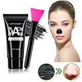 Blackhead Remover Mask Charcoal Peel Off Blackhead Mask with Deep Cleansing Activated Charcoal Face Black Mask For All Skin Types (60g) by BeaGirl