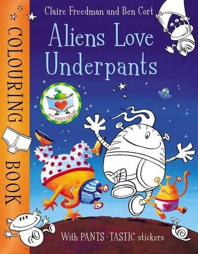 Download Aliens Love Underpants Colouring Book pdf