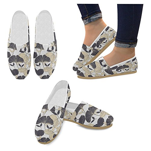 InterestPrint Womens Loafers Classic Casual Canvas Slip On Fashion Shoes Sneakers Flats Multi 30 iCqA9XNK