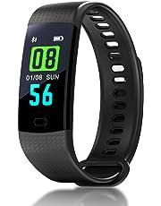 Hastrono Fitness Armband Wasserdicht IP67 Fitness Tracker Aktivitätstracker Schrittzähler Uhr Fitness Uhr Smartwatch,Pulsuhren mit Trainingsmodi für iPhone Android Handy