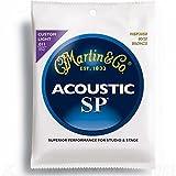 Martin SP 80/20 Acoustic Guitar Strings - Bronze Wound (Custom/Light.011 - .052)