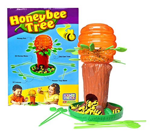 (Game Zone Honey Bee Tree Game - Please Don't Wake the Bees - 2 to 4 Players, Ages 3 and Up )