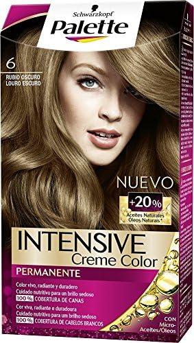 Palette Intense Color Cream Coloración Permanente, Tono 6 ...