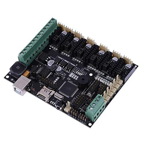 Zamtac 3D Printer Motherboard Megatronics V3 Control Board with Welding AD597 Chip USB 2.0 Full Speed Compatible by GIMAX (Image #2)