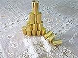Elufly Empty Amber Glass 5ml(1/6 Fl Oz) Roll On
