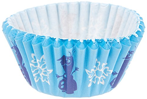 Wilton Disney Frozen Olaf Mini Baking Cups, 100-Count