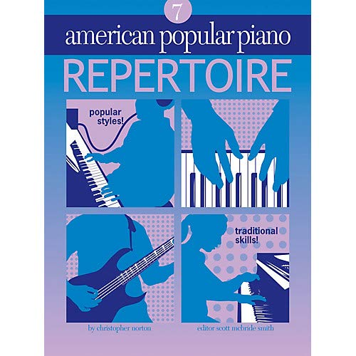 American Popular Piano - Repertoire Novus Via Music Group Series Softcover with CD by Christopher Norton Pack of 2