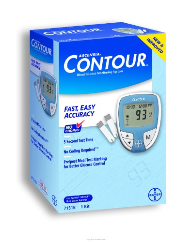 Bayer's Contour Blood Glucose Monitoring System, Ascensia