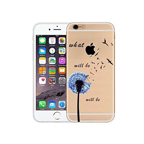 iPhone 6S Plus Cover Silicone, Protettivo Trasparente TPU Shell Case per 5.5 Apple iPhone 6 Plus / iPhone 6S Plus Slim Flessibile Morbide Gel Anti-graffio Crystal Clear Gomma Bumper Case Modello Dand
