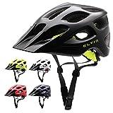Eltin Adjustable Lightweight Bike Helmet Specialized for Safety Protection (Matt Black)