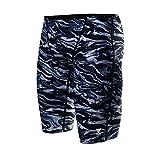 TYR Men's Miramar Jammer Swimsuit, Titanium, 38