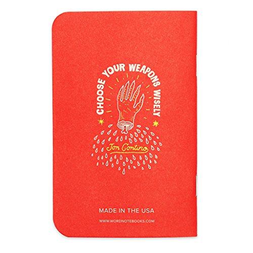 Word. Notebooks Firework - Jon Contino (3-pack) Photo #5