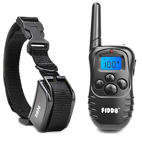 Fiddo Electric Dog Collar 330 Yards Remote Dog Training E