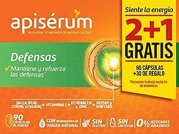 Apisérum Pack Defensas Cápsulas - 3 meses de tratamiento ...