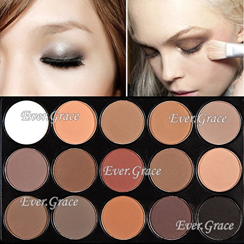 15 Earth Color Makeup Matte Eye Shadow Palette Matt Eyeshado