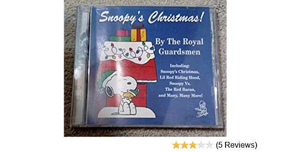 the royal guardsmen snoopys christmas by the royal guardsmen amazoncom music