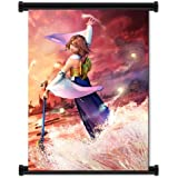 "Final Fantasy X Game Fabric Wall Scroll Poster (16""x20"") Inches"
