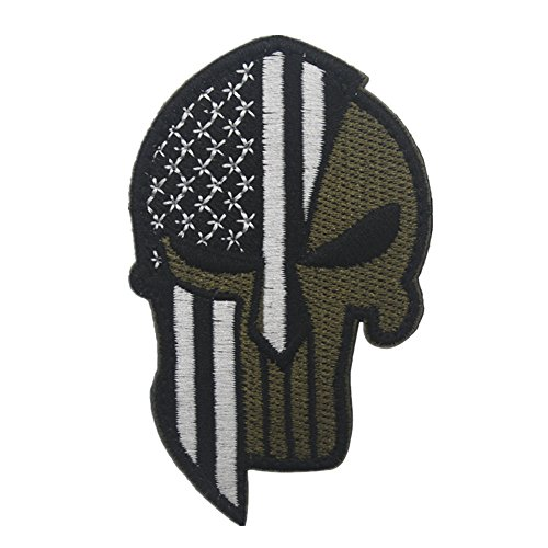 Inverlee Flag Patch Tactical Military Morale Patch Flag Magic Stickers Badge Decoration (H)