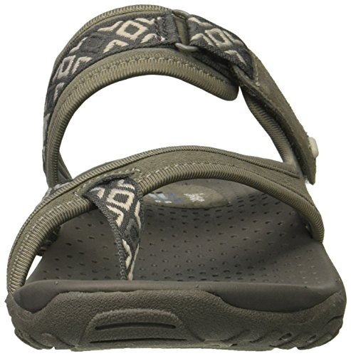 Reggae Skechers Slop Flip Flop Sandals Women's Gray Trailway fqaw6q5O