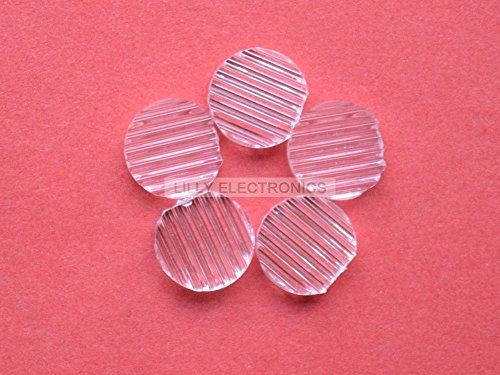 5pcs Laser Line Module Colophony /Plastic Lens w/five Different Degrees 35/45/60/90/120