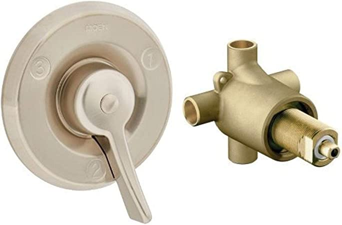 MoenT8360CBN Commercial M-Dura Three-Function Transfer Valve Control Trim Classic Brushed Nickel