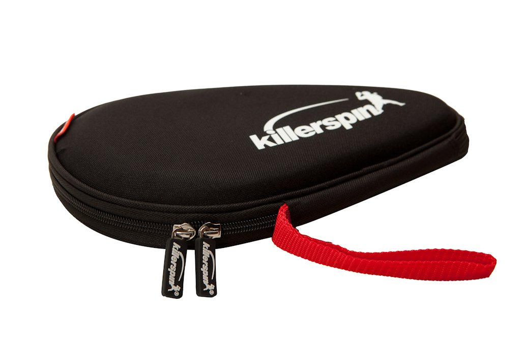 Killerspin Hard Table Tennis Paddle Bag - Ping Pong Case That Holds Up to Two Table Tennis Paddles