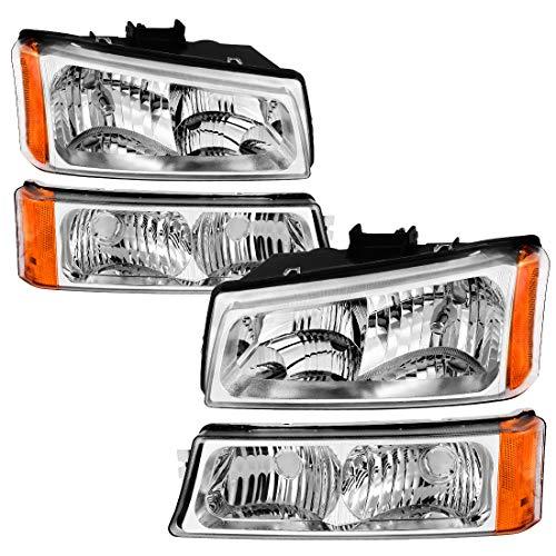 chevy 2500hd headlights 2004 - 2