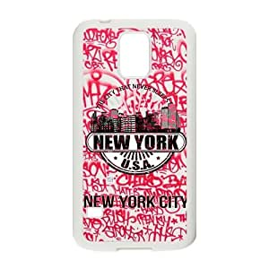 Unique Printing Art Custom New York City Phone Case for SamSung Galaxy S5,TPU diy cover case s5-linda86