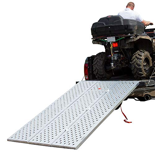 Black Widow TFP-9354 Punch Plate Tri-Fold Atv ()