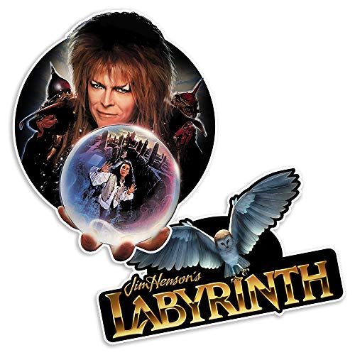 Popfunk Labyrinth David Bowie A Gift Collectible Stickers